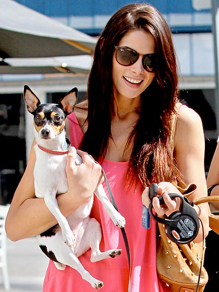 Stars and Their Pets: Ashley Greene's Tight Squeeze