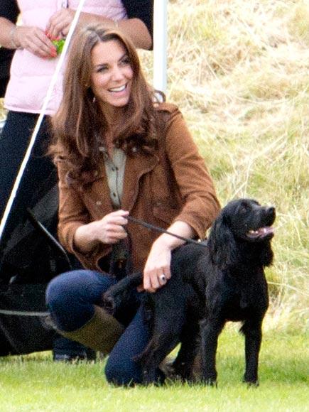 Kate Middleton With Dog Lupo Photos Peoplecom