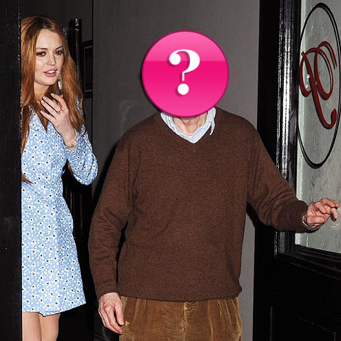 Which director had dinner with Lindsay Lohan?