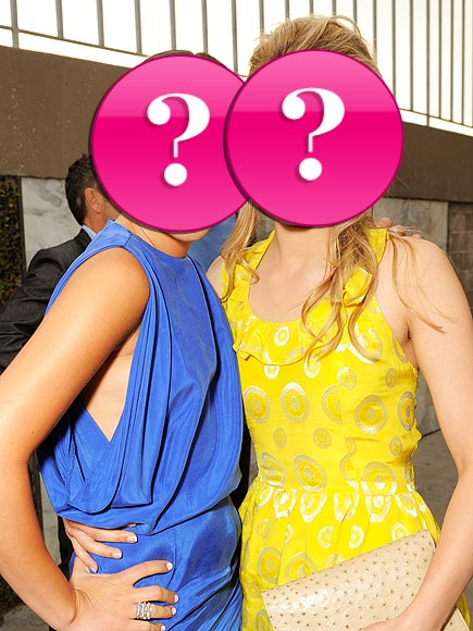 Though they play frenemies on screen, these costars once shared a home together. Who are they?