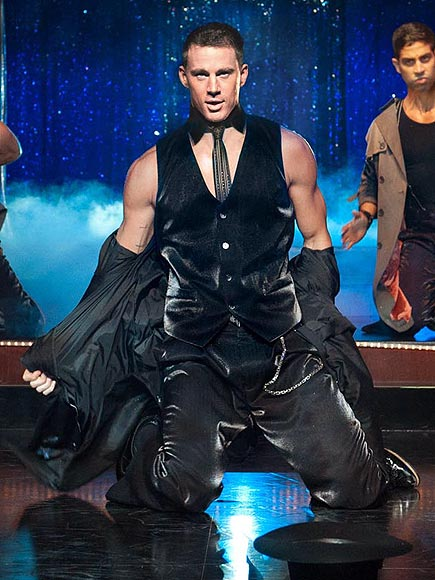 What was Channing Tatum's real-life stripper name?