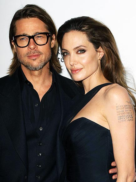 Angelina's latest tattoo is in honor of: