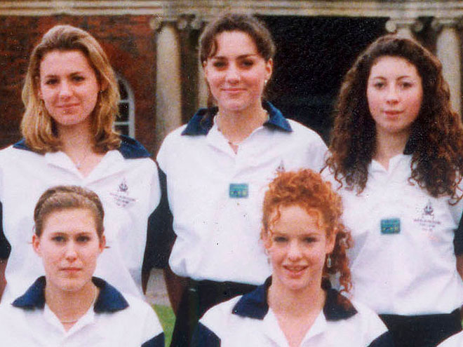 Kate Middleton played which sport in school?