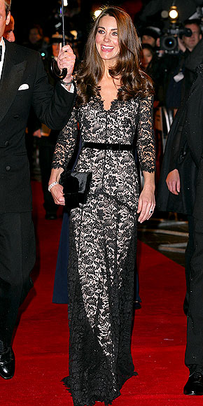 LOVELY IN LACE photo | Kate Middleton