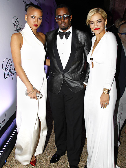 CASSIE, DIDDY & RITA photo | Cassie, Sean \P. Diddy\ Combs