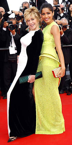 JANE & FREIDA photo | Freida Pinto, Jane Fonda
