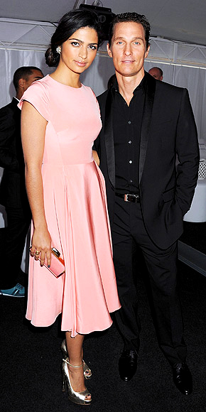 CAMILA & MATTHEW photo | Camila Alves, Matthew McConaughey