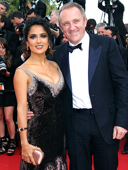 SALMA & FRAN&#199;OIS-HENRI  photo | Henri Pinault, Salma Hayek