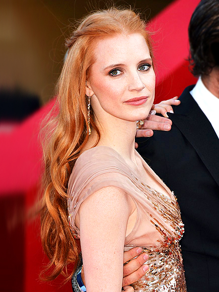 MOST HEAD-TURNING HAIR: JESSICA CHASTAIN photo | Jessica Chastain
