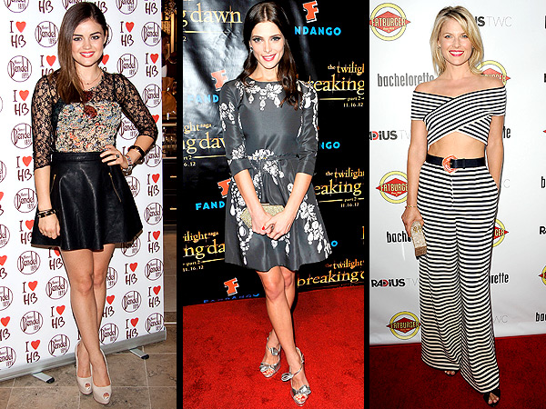 Lucy Hale, Ashley Greene, Ali Larter