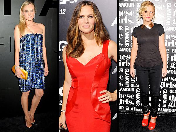 Diane Kruger, Jennifer Garner, Amy Poehler