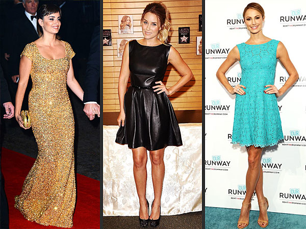 Penelope Cruz, Lauren Conrad, Stacy Keibler