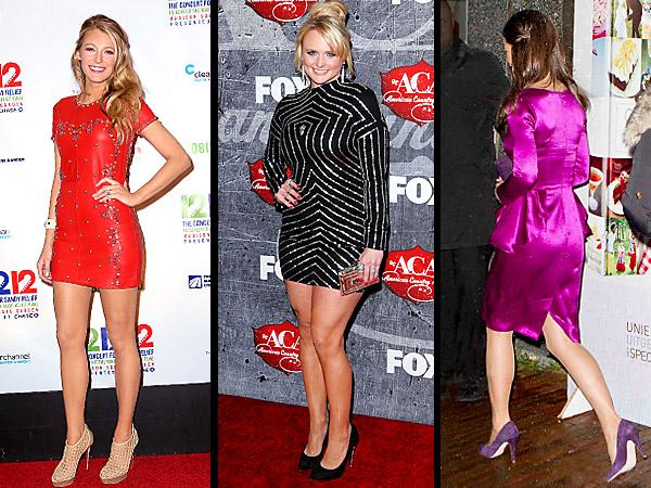 Blake Lively, Miranda Lambert, Pippa Middleton