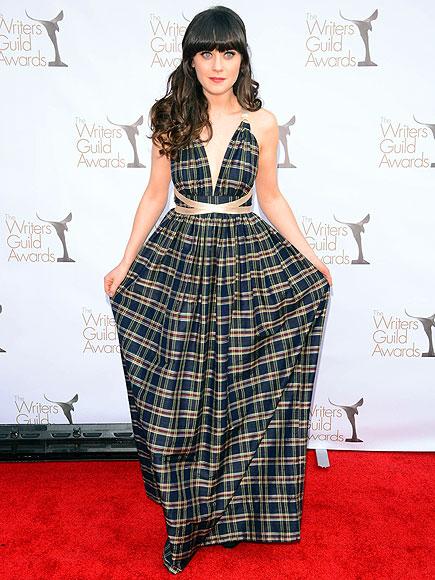 2012 awards shows jean dujardin shailene woodley rooney for Zoe dujardin