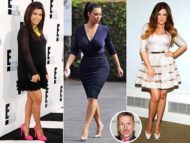 THE KARDASHIANS: BRUNETTE BOMBSHELLS photo | Khloe Kardashian, Kim Kardashian, Kourtney Kardashian, Simon Doonan