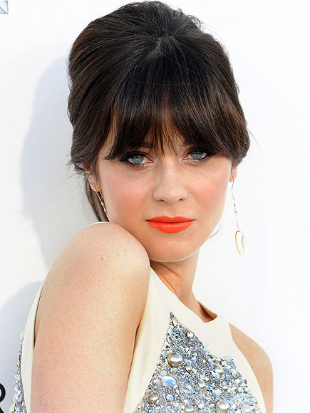 ZOOEY: MOST WANTED BANGS photo | Zooey Deschanel