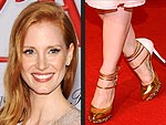 The Sexiest Shoes on the Red Carpet | Jessica Chastain