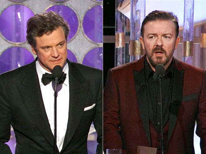 photo | Colin Firth, Ricky Gervais