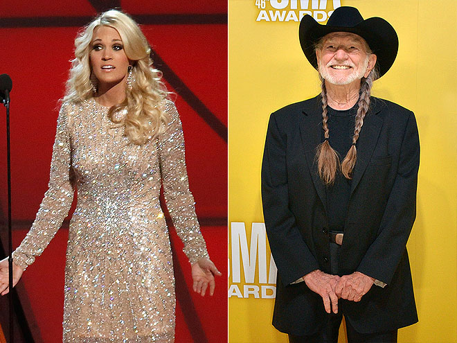  photo | Carrie Underwood, Willie Nelson