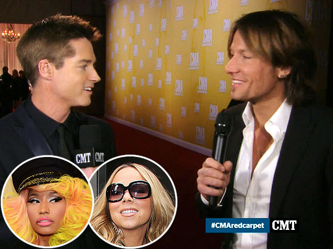 photo | Keith Urban, Mariah Carey, Nicki Minaj