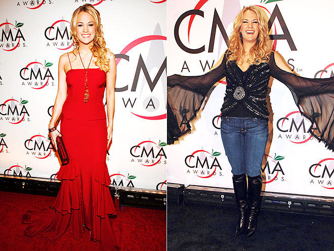 Carrie Underwood's Most Epic CMA Outfits