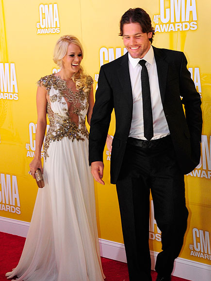 CARRIE UNDERWOOD & MIKE FISHER photo | Carrie Underwood, Mike Fisher