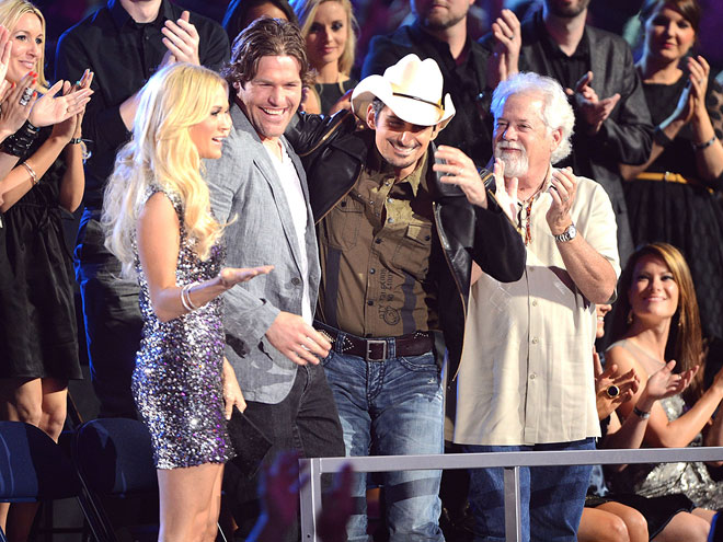 LOVE TRIANGLE photo | Brad Paisley, Carrie Underwood, Mike Fisher