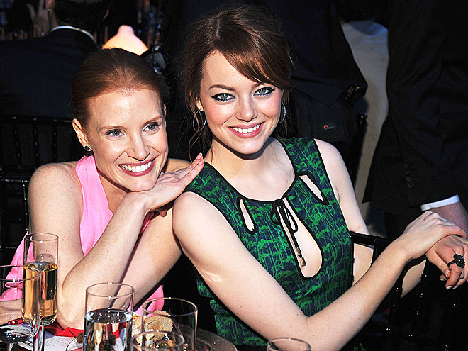 LEAN TIMES photo | Emma Stone, Jessica Chastain