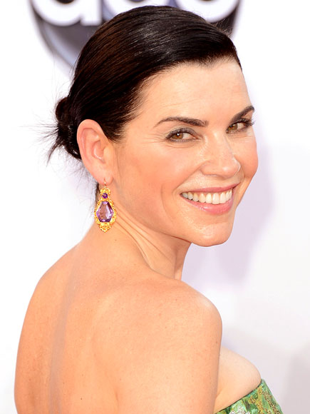 JULIANNA MARGULIES'S ROSY FLUSH AND SLICK CHIGNON photo | Julianna Margulies