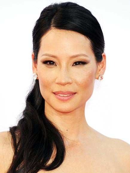 LUCY LIU'S OMBRÉ EYES photo | Lucy Liu