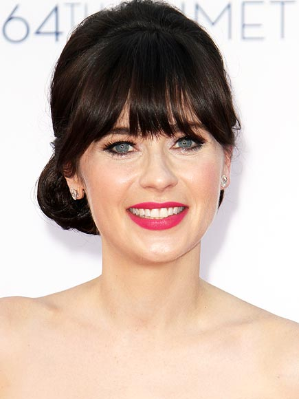 ZOOEY DESCHANEL'S RASPBERRY LIPS photo | Zooey Deschanel