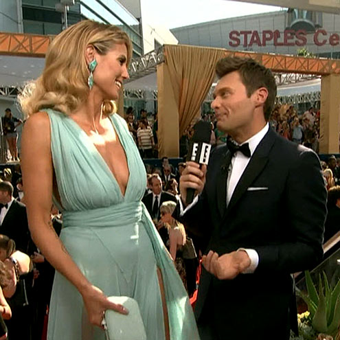 photo | Heidi Klum, Ryan Seacrest