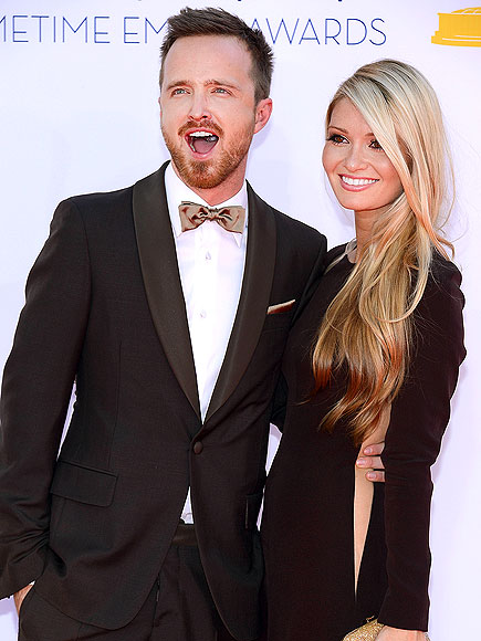 AARON PAUL & LAUREN PARSEKIAN photo | Aaron Paul