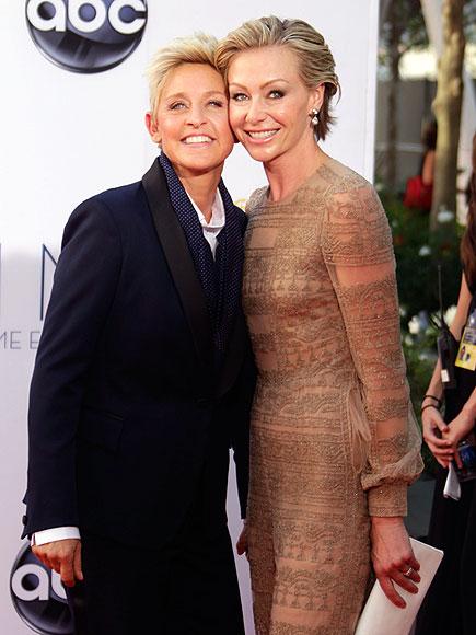 ELLEN DEGENERES & PORTIA DE ROSSI photo | Ellen DeGeneres