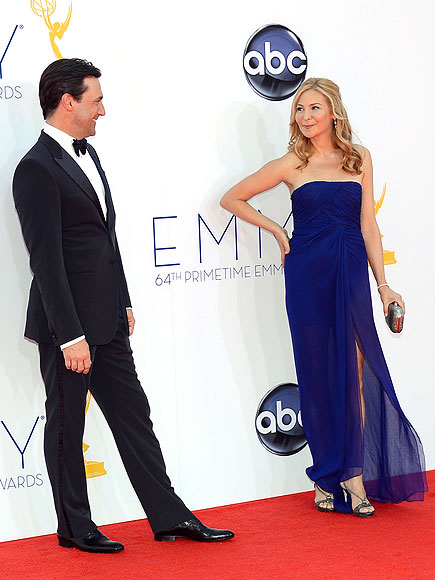 JON HAMM & JENNIFER WESTFELDT photo | Jon Hamm