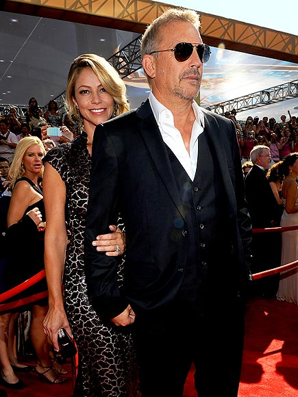 KEVIN COSTNER & CHRISTINE BAUMGARTNER photo | Kevin Costner