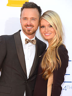 Aaron Paul 'Begged' Fiancée to Marry Him | Aaron Paul