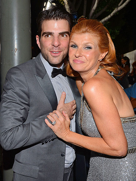 AMERICAN REUNION photo | Connie Britton, Zachary Quinto