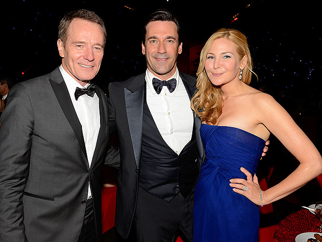 NO DRAMA  photo | Bryan Cranston, Jennifer Westfeldt, Jon Hamm