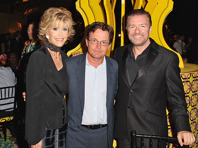 A FUNNY THING photo | Jane Fonda, Michael J. Fox, Ricky Gervais