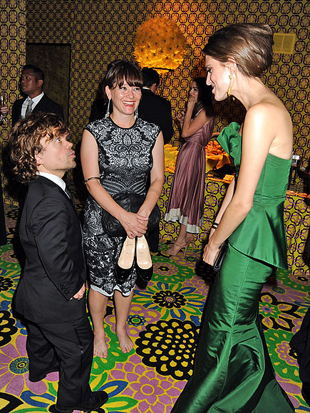 HOLDING COURT photo | Allison Williams, Peter Dinklage