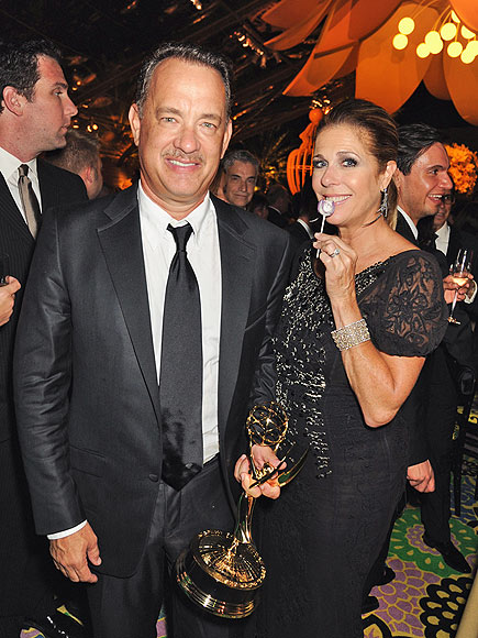 BREAK OUT THE POPS! photo | Rita Wilson, Tom Hanks