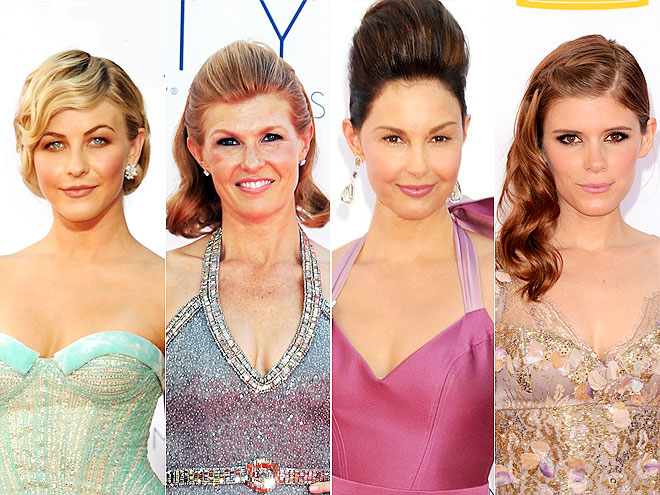 UNIQUE UPDOS photo | Ashley Judd, Connie Britton, Julianne Hough, Kate Mara