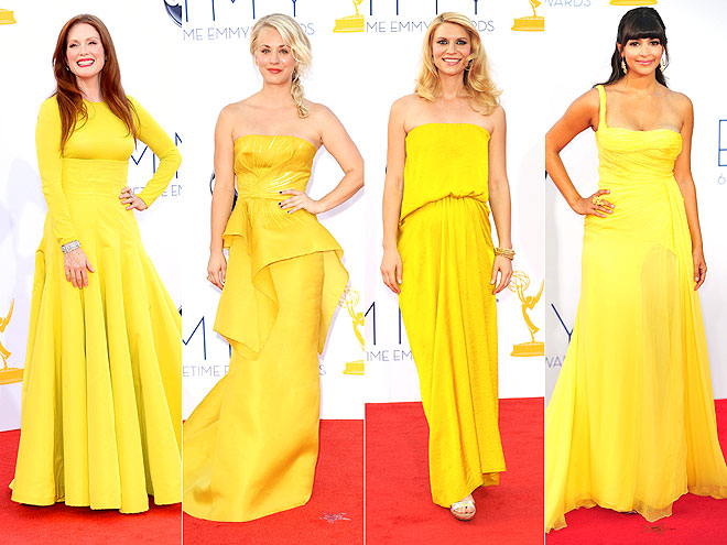 BRIGHT YELLOW DESIGNS photo | Claire Danes, Julianne Moore, Kaley Cuoco