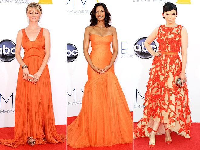 ORANGE LOOKS photo | Ginnifer Goodwin, Padma Lakshmi