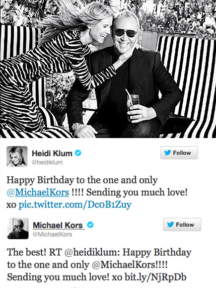 MODEL FRIENDSHIP photo | Heidi Klum, Michael Kors