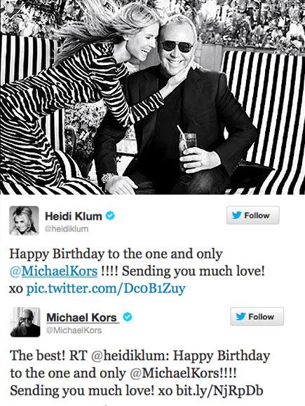 MODEL FRIENDSHIP photo | Heidi Klum, Michael Kors