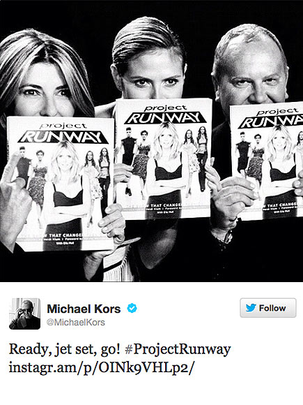 WITH THE PROGRAM photo | Michael Kors