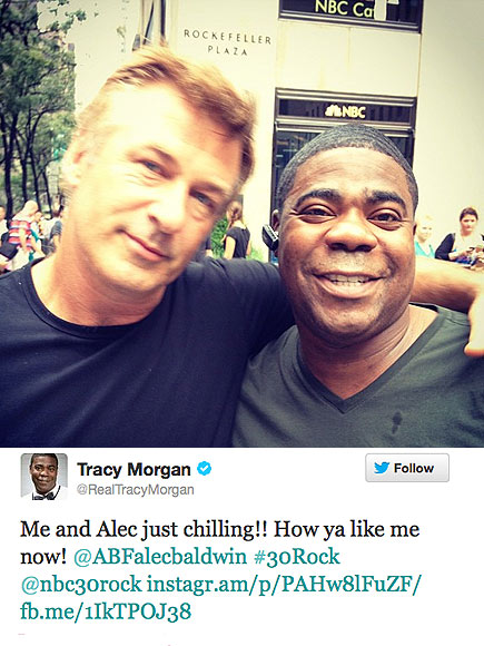 'ROCK' STARS photo | Alec Baldwin, Tracy Morgan