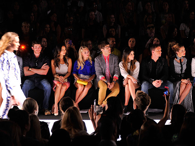 REBECCA MINKOFF FRONT ROW photo | Ryan Lochte